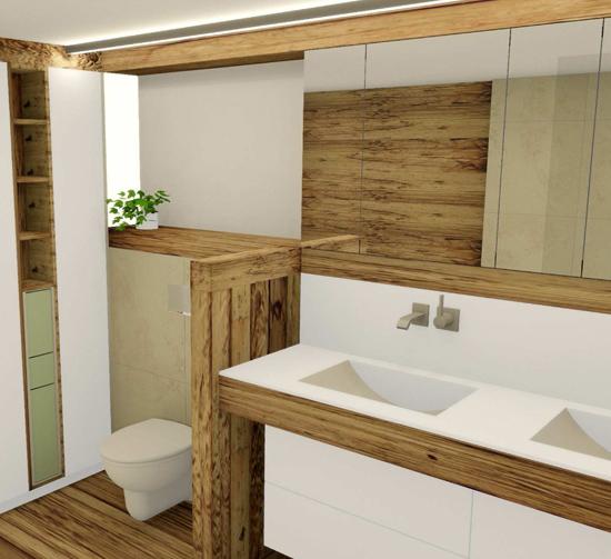 Badezimmermbel Rustikal: Küche. Bad. Innenarchitektur. Referenzen Bäder